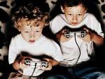 kids with game