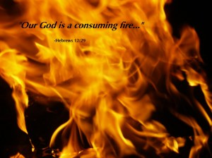 God consuming fire