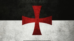 Knights Templar Black and White